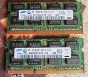 2x2GB DDR3 8500 SO-DIMM Arbeitsspeicher