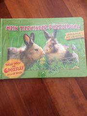Originalverpackung Puzzle meine Tierkinder