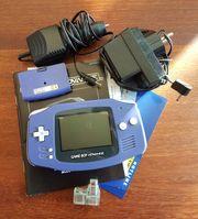 Gameboy Advance mit Zubehör GBA