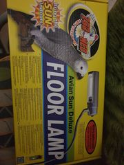UV LAMPE für Vögel fast