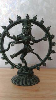 Bronzefigur Bronze Reproduktion Gott Shiva