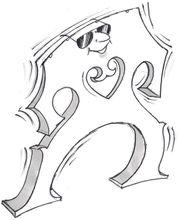 Cello- und Kontrabassbrücken montieren und