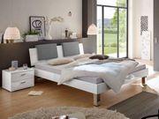 Bett weiß hochglanz 130x200 mit