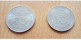 Münzen - 2 x Münze Medaille Johann