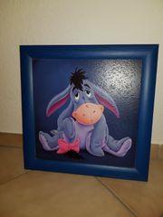 Wandbild Esel I-Aah von Winnie