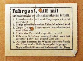 Bild 4 - Fahrscheine Eintrittskarte Ticket antik - Oberding