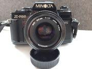 Minolta X-700 MPS Spiegelreflexkamera mit