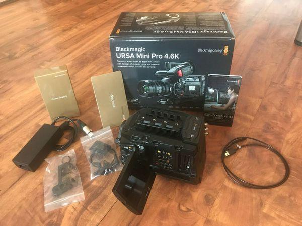 Blackmagic URSA Mini Pro 4