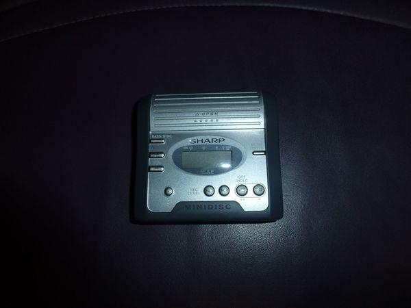 SHARP Minidisc-Recorder MD-MT 270H portabler