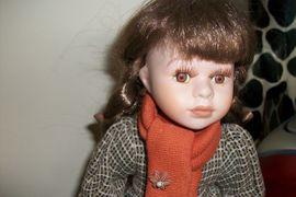 Puppen - Puppe im Kleidchen 27 cm