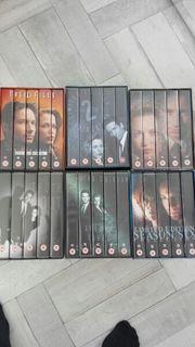 VHS Kassetten AKTE X Boxen