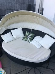 Rattan Lounge Daybed