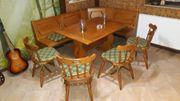 Keller Eckbank mit Tisch und