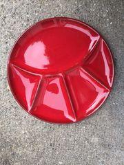 Winterling Fondueteller rot 8 Stück