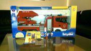 Bruder Scania Feuerwehr Leiterwagen m