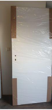 Zimmertür mit zarge neu und