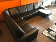 Ledercouch Imitat mit Relaxfunktion- 330cm