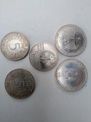 5DM u 10 DM Sammlermünzen