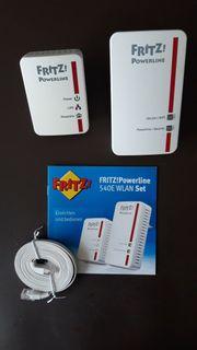 Fritz Powerline 540E WLAN Set