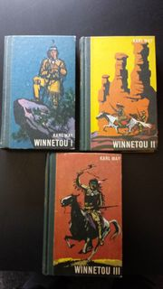 WINNETOU BÜCHER - BAND 1-3