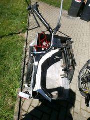 SIS Mars Moped Rahmen