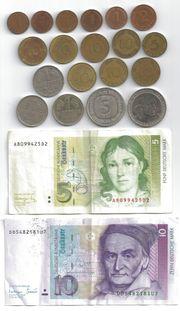 Münzen Banknoten Deutschland 1950 bis