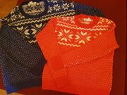 2 Pullover Damen Rot Gr