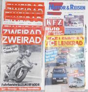 Motorrad Auto- Zeitschriften
