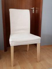 4 Esszimmerstühle IKEA Henriksdal gebraucht