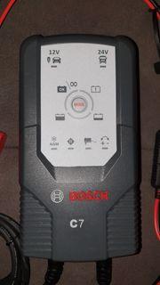 BOSCH C7 KFZ Automatik-Batterie-Ladegerät 12V
