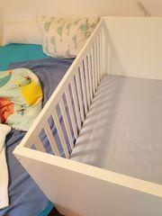 IKEA STUVA Babybett weiß 70x140