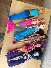 Puppen Barbie Meerjungfrau Mann