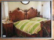 Doppelbett aus der Gründerzeit