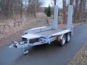 Minibagger Bobcat Kleintraktor Anhänger 2