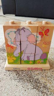 Holz Bilderwürfel Winnie The Pooh