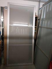 2 IKEA Pax-Glas-Schiebetüren mit Schienen
