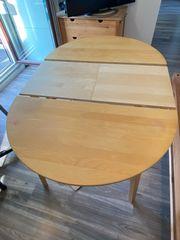 Ausziehbarer Esstisch Ikea bis 165