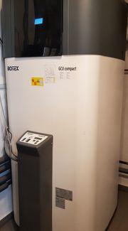 Gasheizung Rotex GCU Compact 515