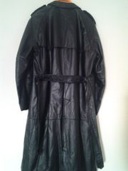 Ledermantel Trenchcoat