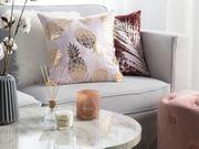 Dekokissen Ananas-Motiv rosa 45 x