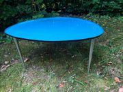 2 Metall-Tische im 60er Jahre