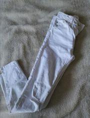 Weiße Jeans Bershka größe 34