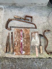 Verschenke gebrauchtes angerostetes Kleinwerkzeug