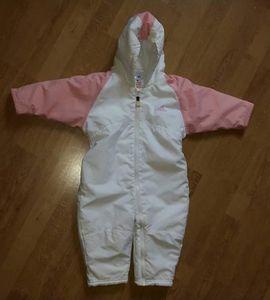 Kinderbekleidung - Mädchen schneeanzug gr 74 neuwertig