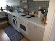 Alte Küche inkl Kühlschrank Offen
