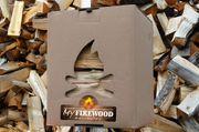 11 kg getrocknetes Kaminholz Brennholz
