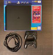 PS4 Slim 1GB mit 8