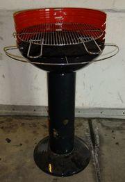 hochwertiger Grill Barbecook Holzkohle Säulengrill