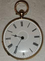 Antike Goldene Taschenuhr 14K 585