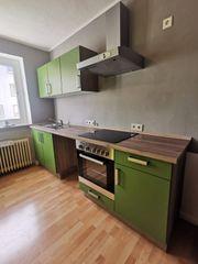 Schnäppchen Neuwertige Küche mit Kühlschrank